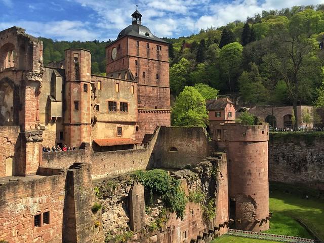 Castillo de Heidelberg (Alemania)