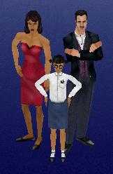 Familia Lápida en Los Sims 1