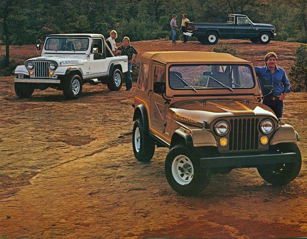 White Cj7 Renegade >> 1985 Jeep CJ Scrambler and Pickup Truck | coconv | Flickr