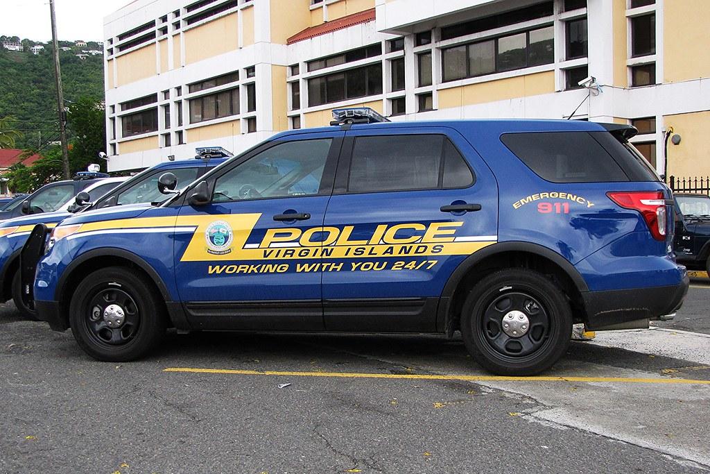 Us Virgin Islands Police St Thomas Ford Interceptor Ut