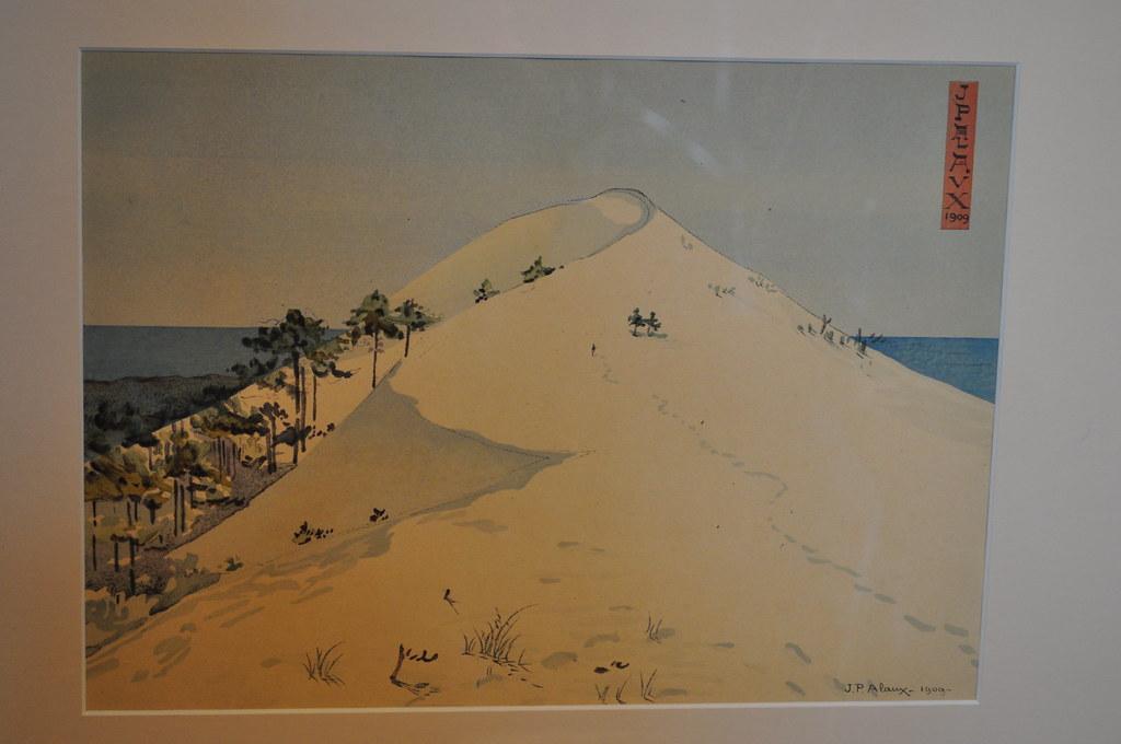 la grande dune 1909 exposition jean paul alaux 1876 1 flickr. Black Bedroom Furniture Sets. Home Design Ideas