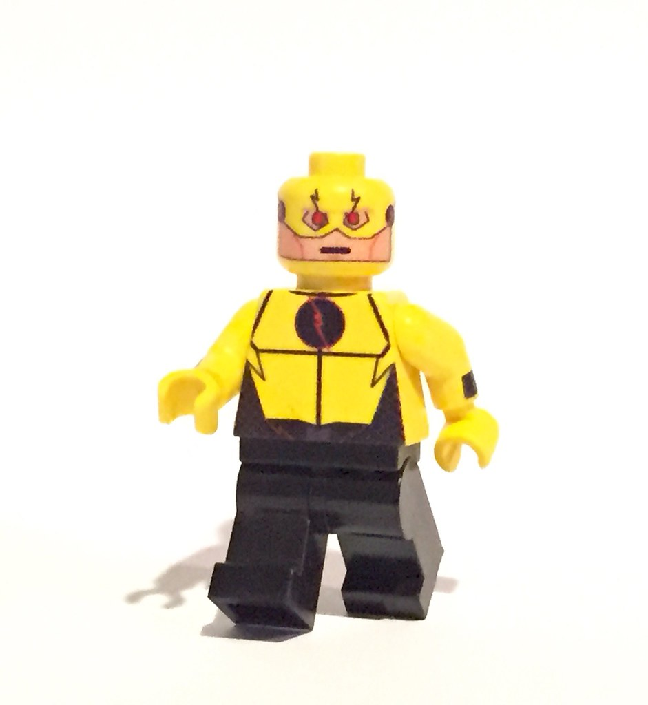Reverse Flash no Mask Reverse Flash | by Minifig
