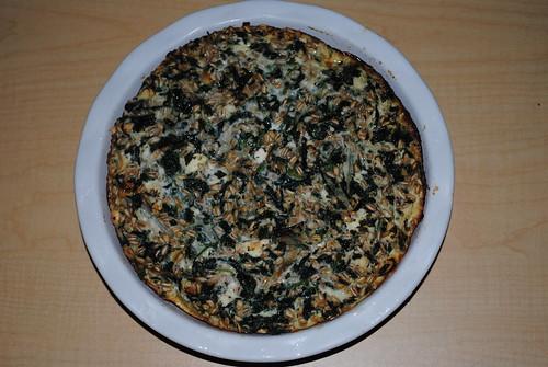 Spinach-Feta-Farro Egg White Frittata (7)