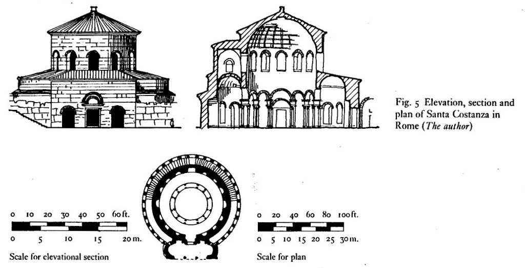 Plan Vs Elevation And Section : Doc elevation section and plan of santa costanza