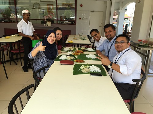 Lunch at Rajoo Banana Leaf