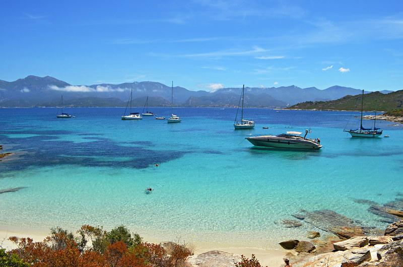 Cove, Coastal walk Saint Florent, Corsica