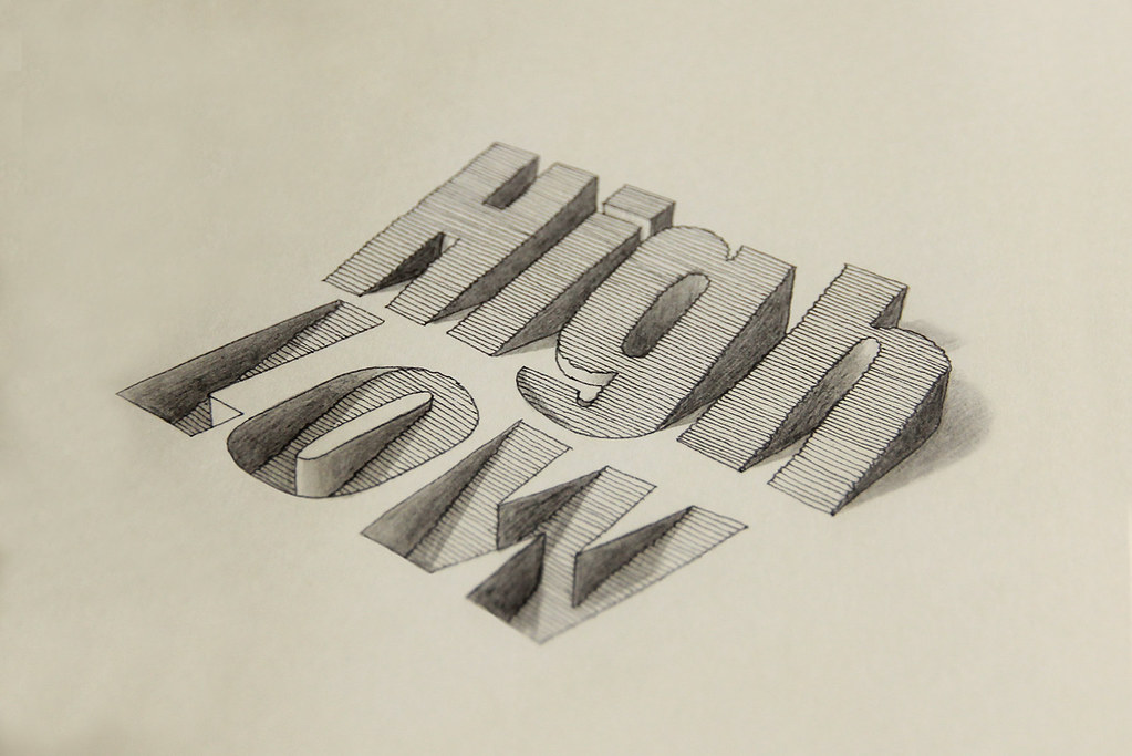 High low 3d type website behance youtube channel for 3d drawing website
