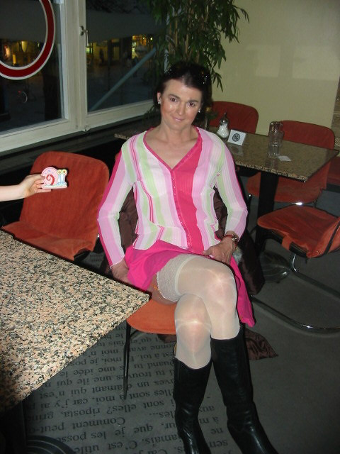 Mature Stockings Outdoor  Immer Strapspflicht Fr Die -3546