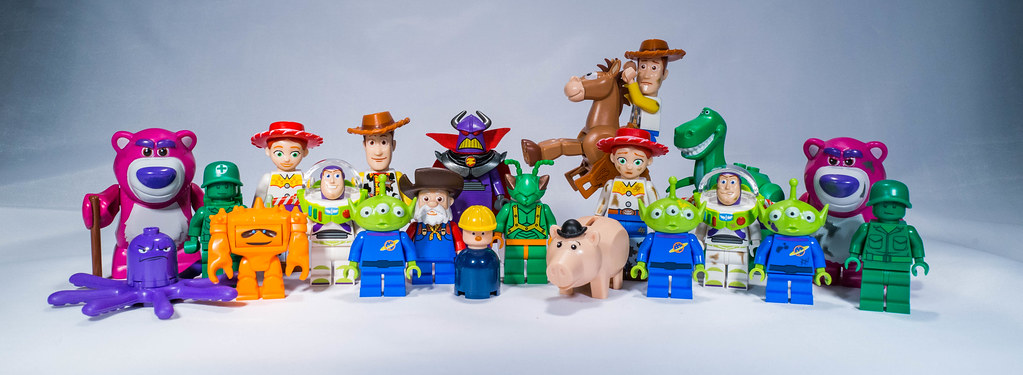 All the lego toy story minifigs in one picture all the - Lego toys story ...