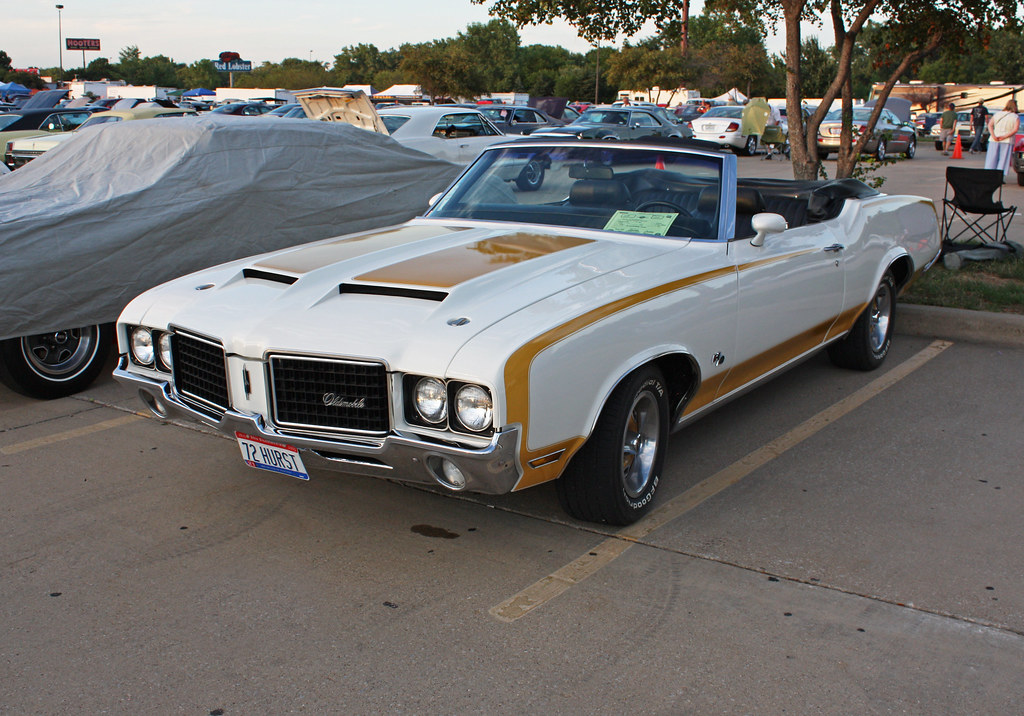 1972 Hurst Olds Cutlass Supreme 455 Convertible Indy Pace