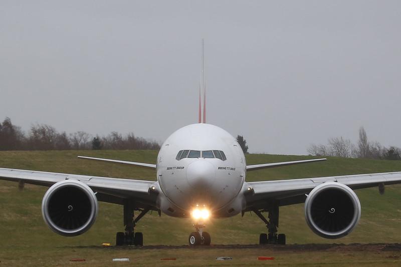 Emirates Boeing 777-300ER (A6-EBL / MSN32709 LN:551)