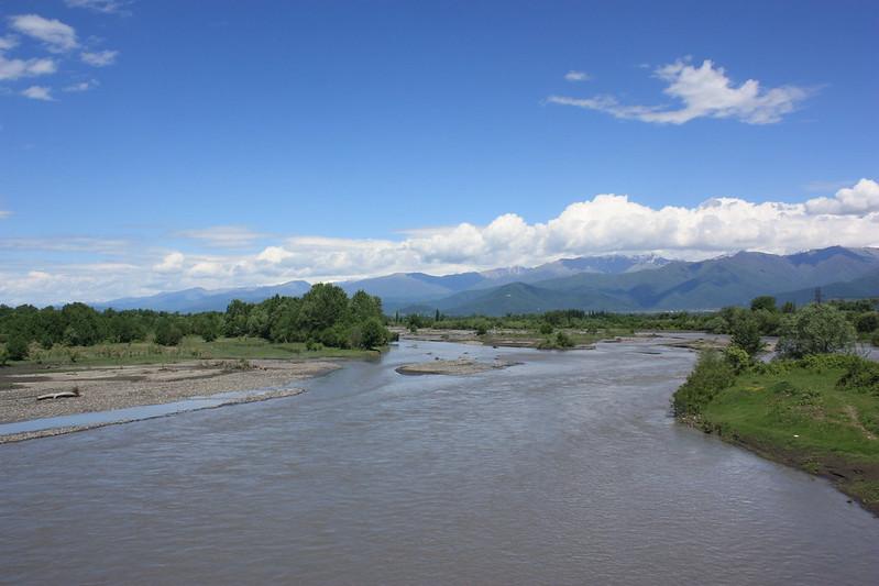 Кахетия, река Алазани