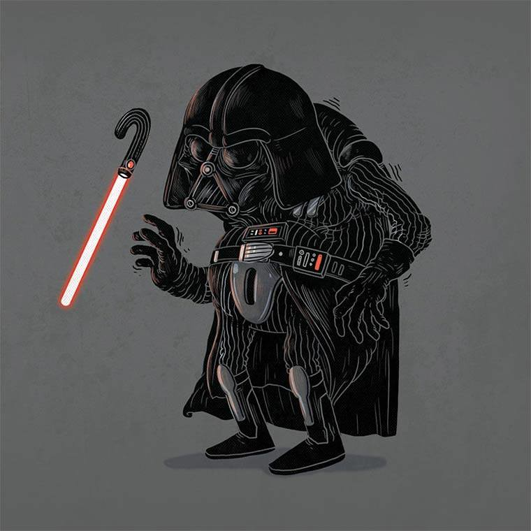 Famous Oldies by Alex Solis - Darth Vader