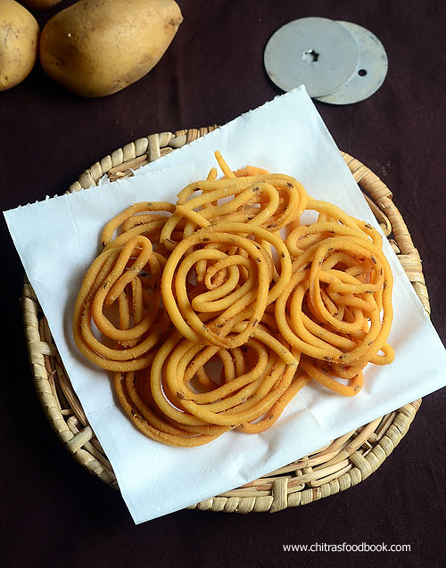 Potato chakli