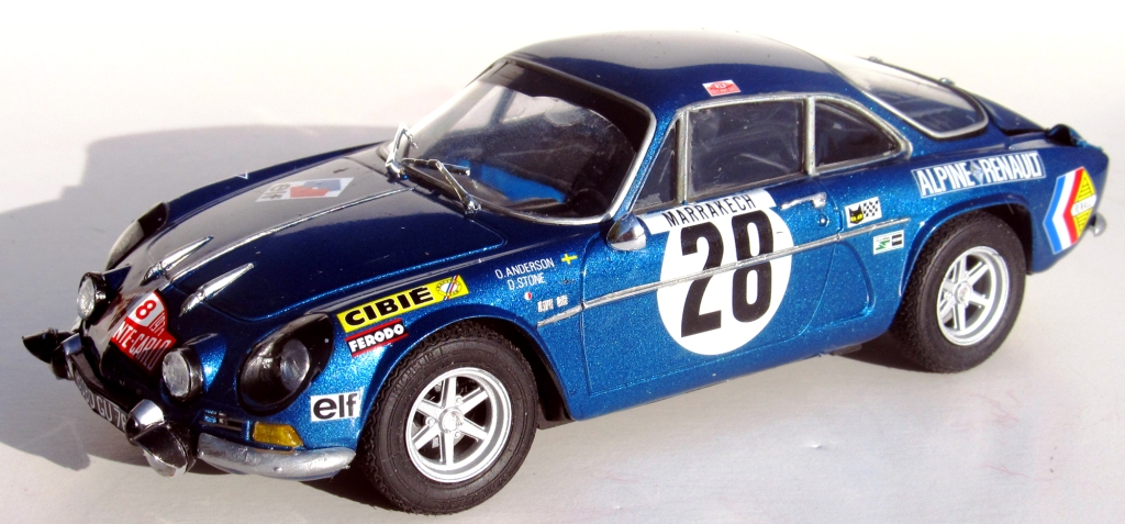 000 alpine renault a110 monte carlo 1971 1 24 scale tami flickr. Black Bedroom Furniture Sets. Home Design Ideas