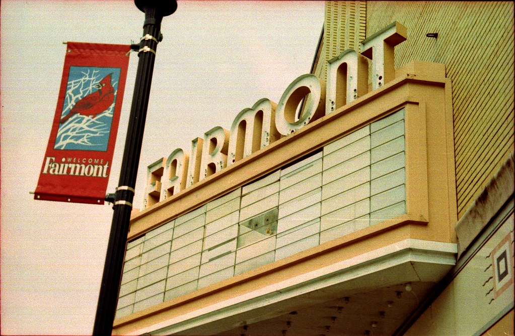 Fairmont Theater - Fairmont, WV | A look at the old ...