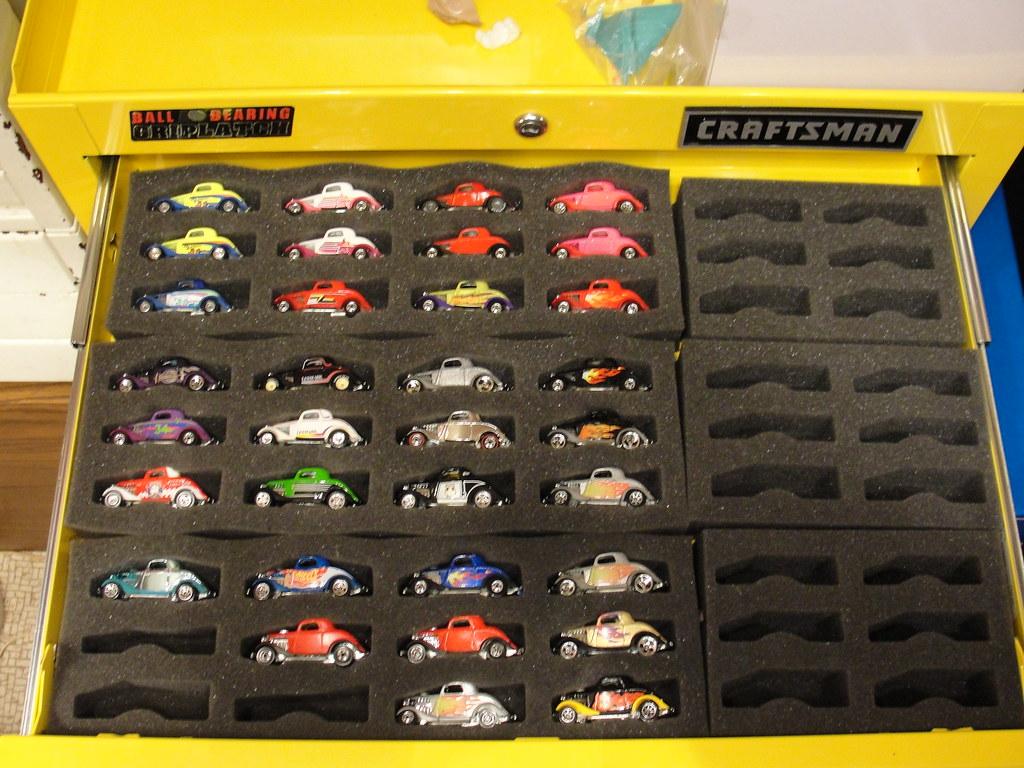 tool box hot wheels storage hot case foam inserts in my
