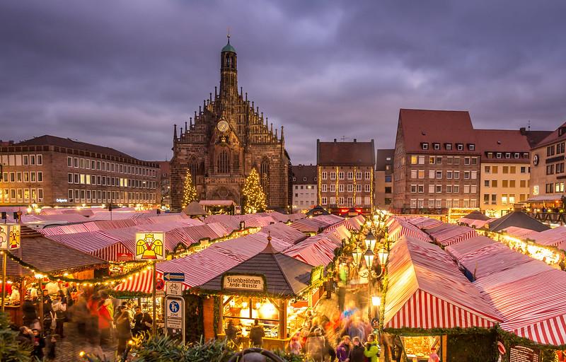 Christkindlesmarkt. El Mercado de Navidad de Núremberg