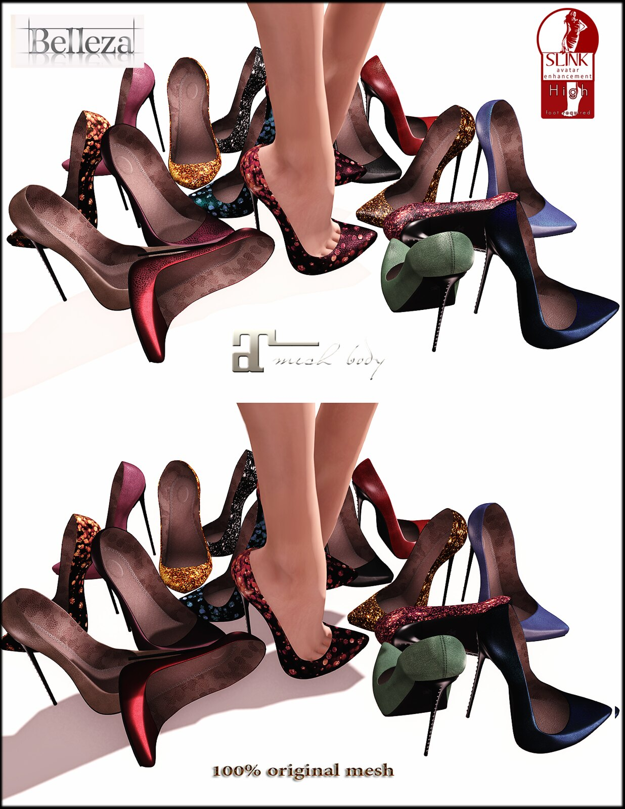 UPDATE! Sesa heels also for Maitreya!