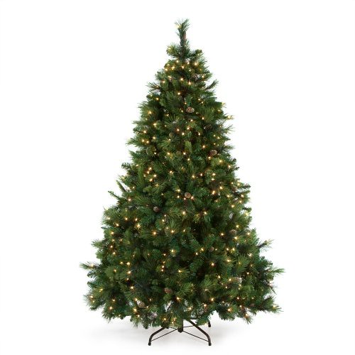 National tree company carolina pine full pre lit christmas