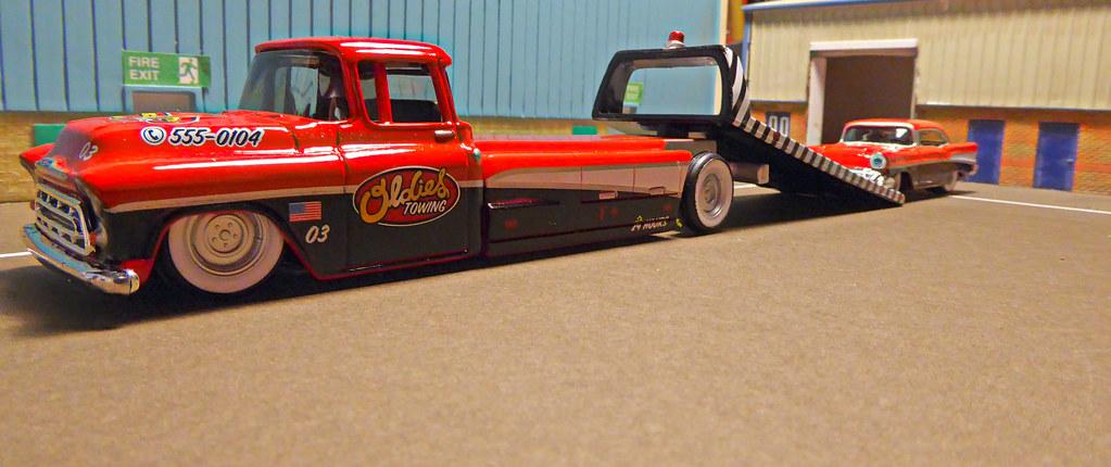 1957 Chevrolet Custom Flatbed Truck Amp 1957 Bel Air Flickr