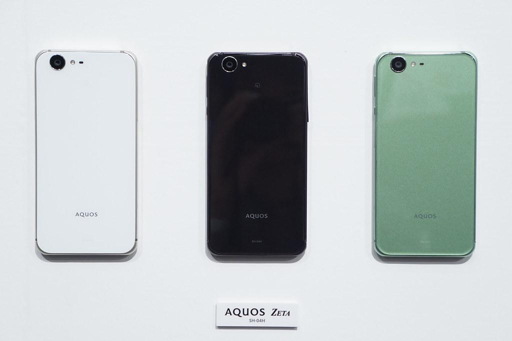 ドコモ2016年夏モデル AQUOS ZETA SH-04Hが6月上旬発売