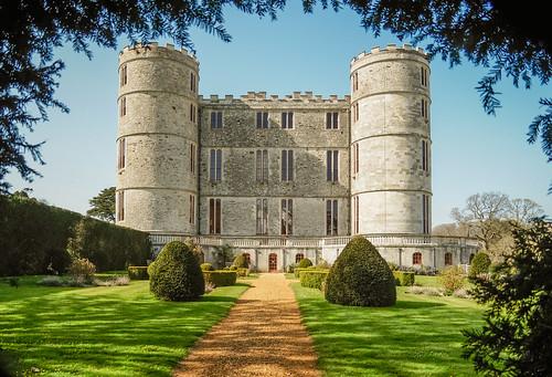 17th century  Lulworth Castle in Dorset