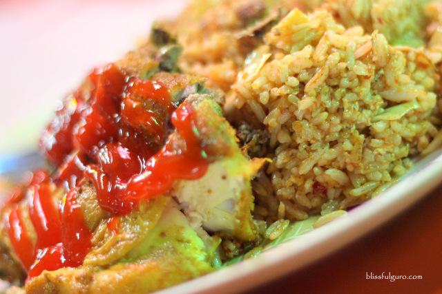 Melaka Malaysia Nasi Goreng Ayam