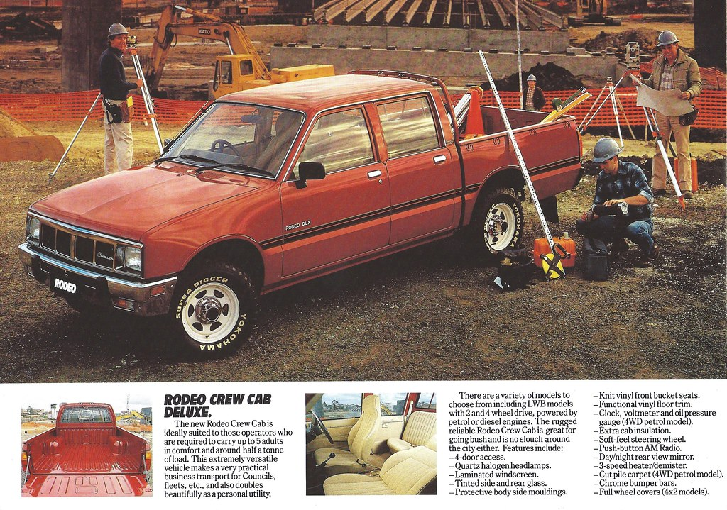 1985 Holden Rodeo Isuzu Kb Under One Of Many Different