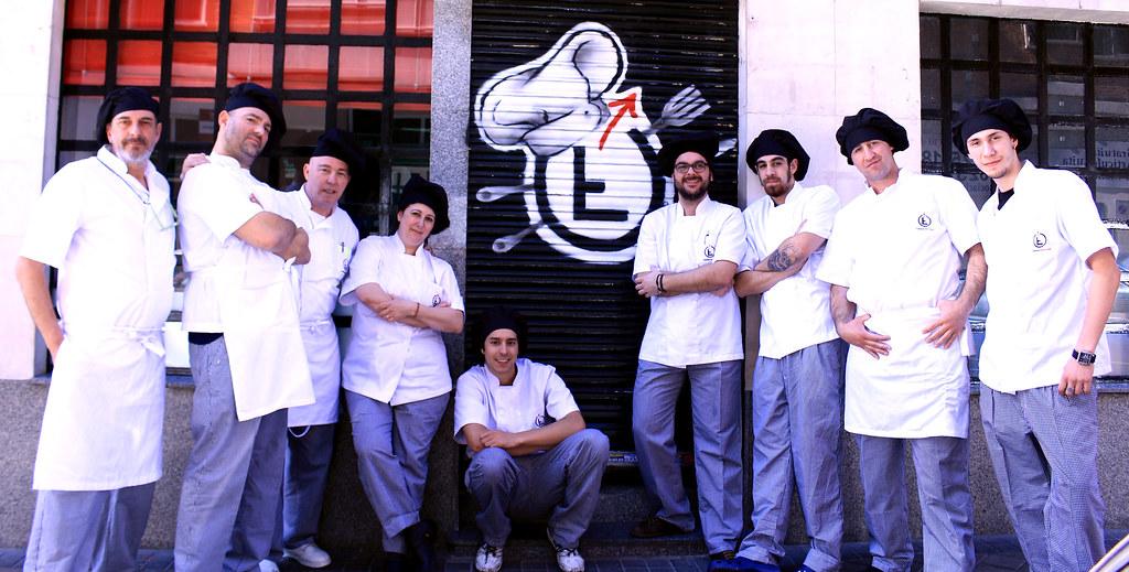 Curso de cocinero grupo