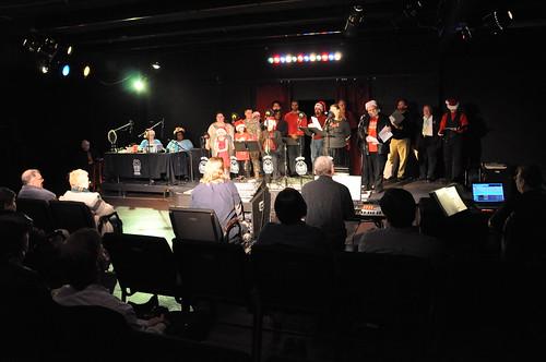 An Atlanta Christmas cast from 2009