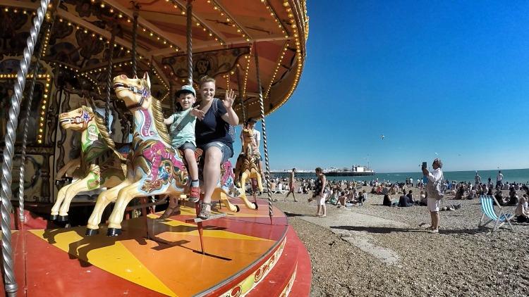 Brighton Pride beach ride
