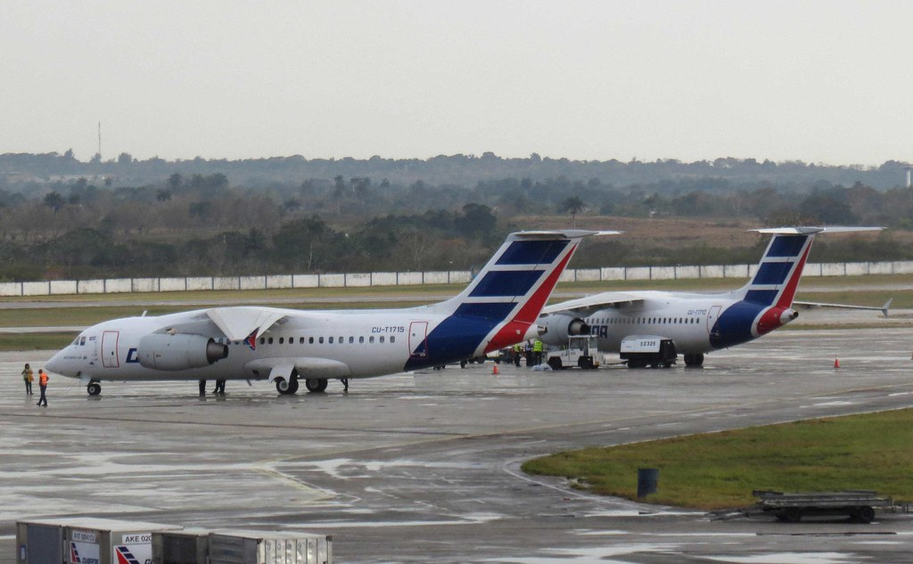 Cubana Antonov AN-158 CU-T1715 & CU-T1712 at José Martí In ...