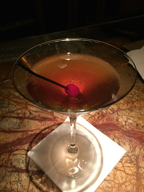 Classic Manhattan cocktail - Farallon