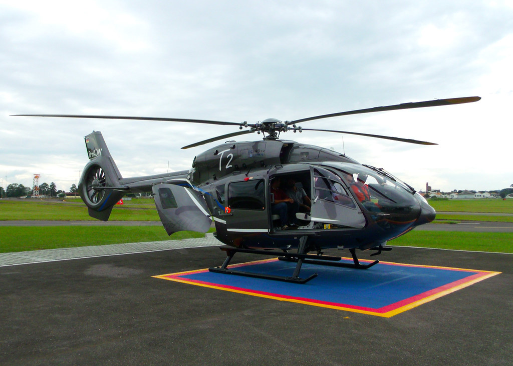 Elicottero H145 : Airbus helicopters h t d hadw aeroporto bacacheri