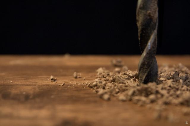 Wood drill 1st