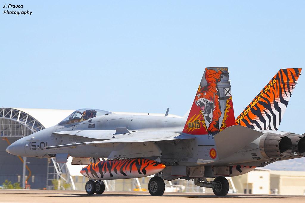 NTM 2016 - Tiger Meet Zaragoza - F-18 Hornet   NTM 2016 ...