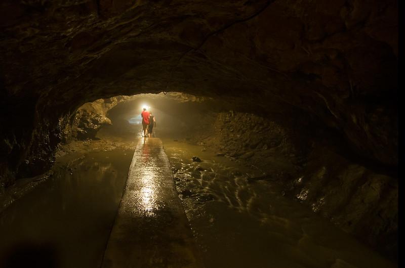 Foggy Dancehall Cave