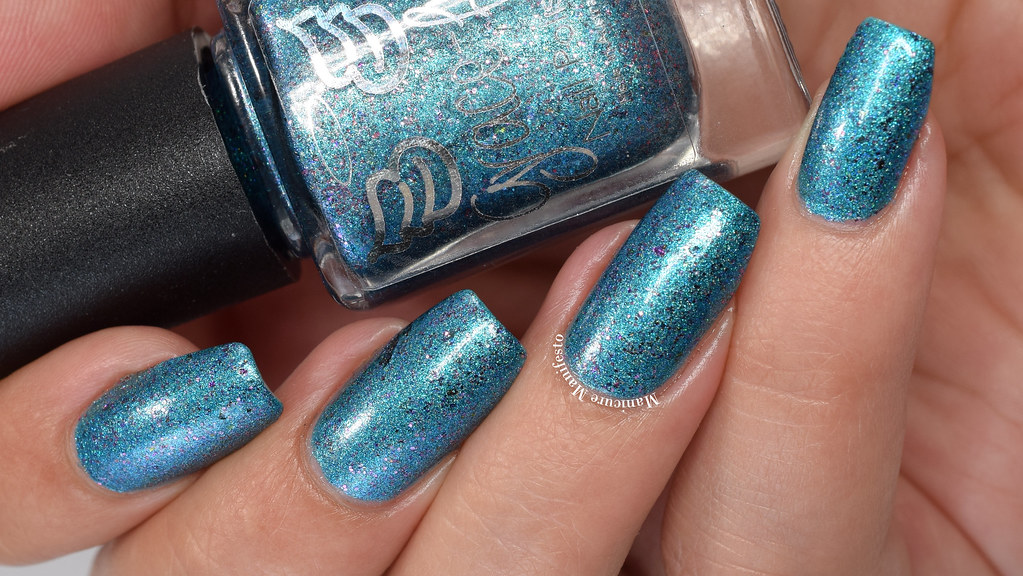 Grace-full Nail Polish Unicorn Lagoon Swatch