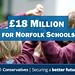 £18M for Norfolk Schools