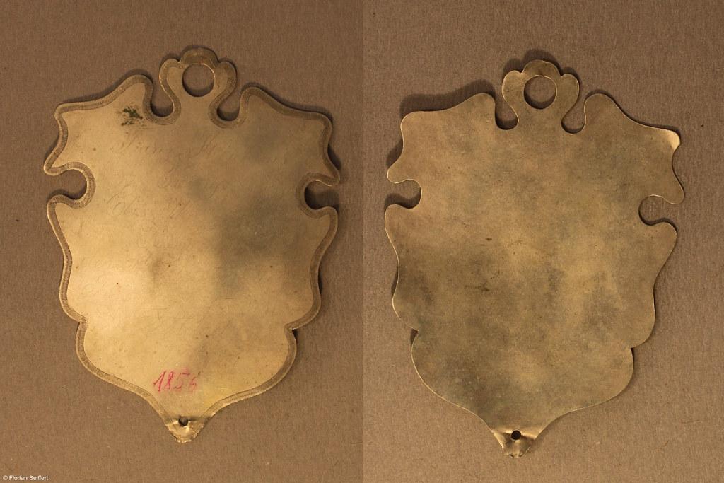 Koenigsschild Flittard von hinkens franz aus dem Jahr 1856