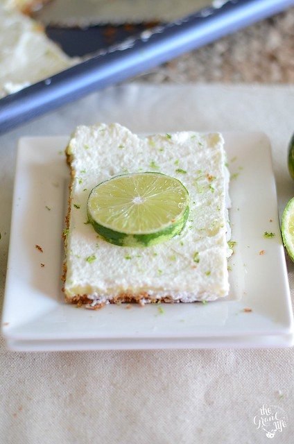 Key Lime Slab Pie
