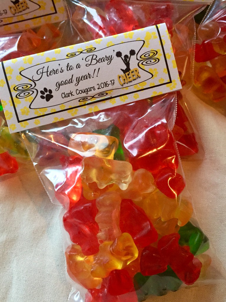 Here S To A Beary Good Year 🎉 Cheer Camp Gummy Bears T