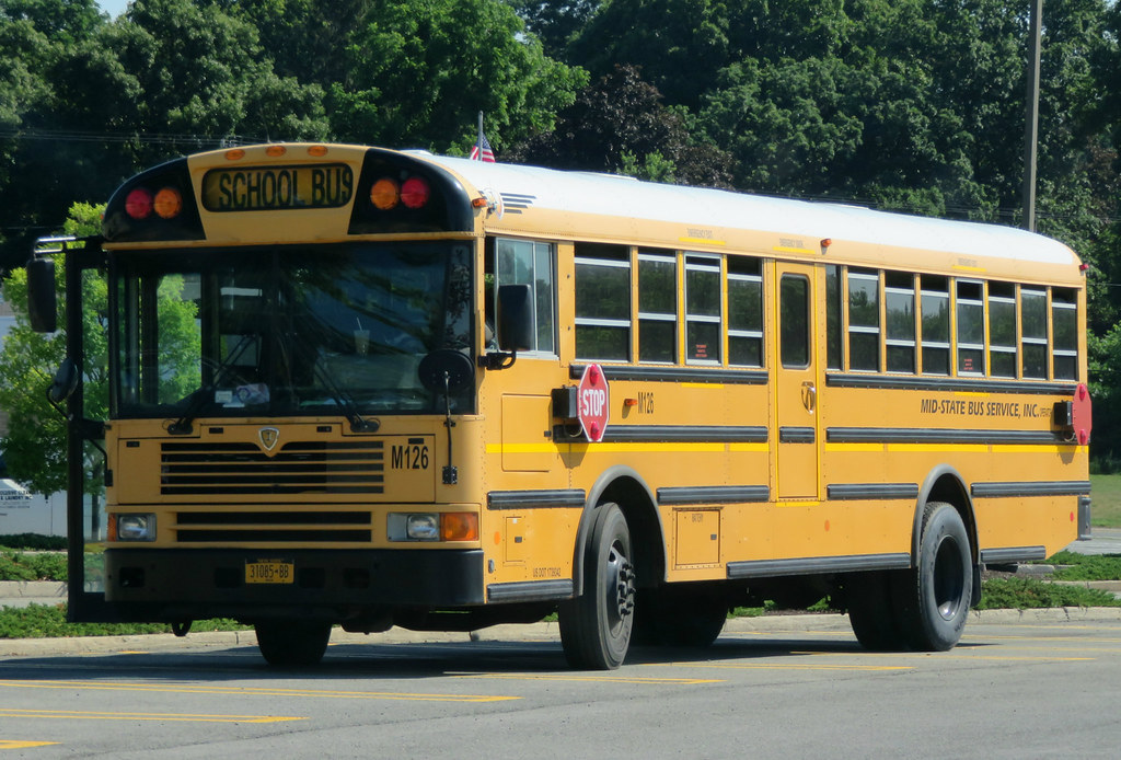 Mid State Bus Service M126 Hv Photos Flickr