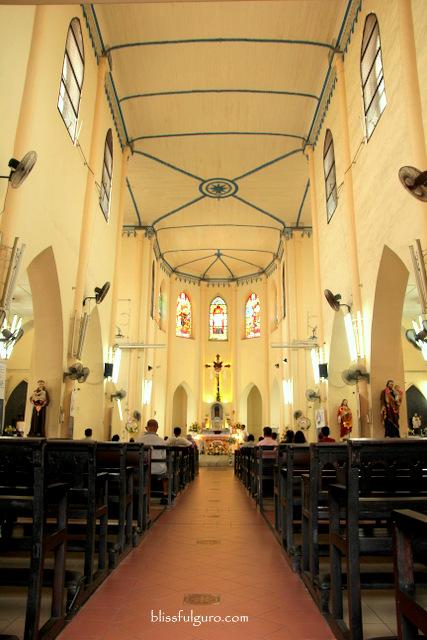 Melaka Malaysia St Francis Xavier Church