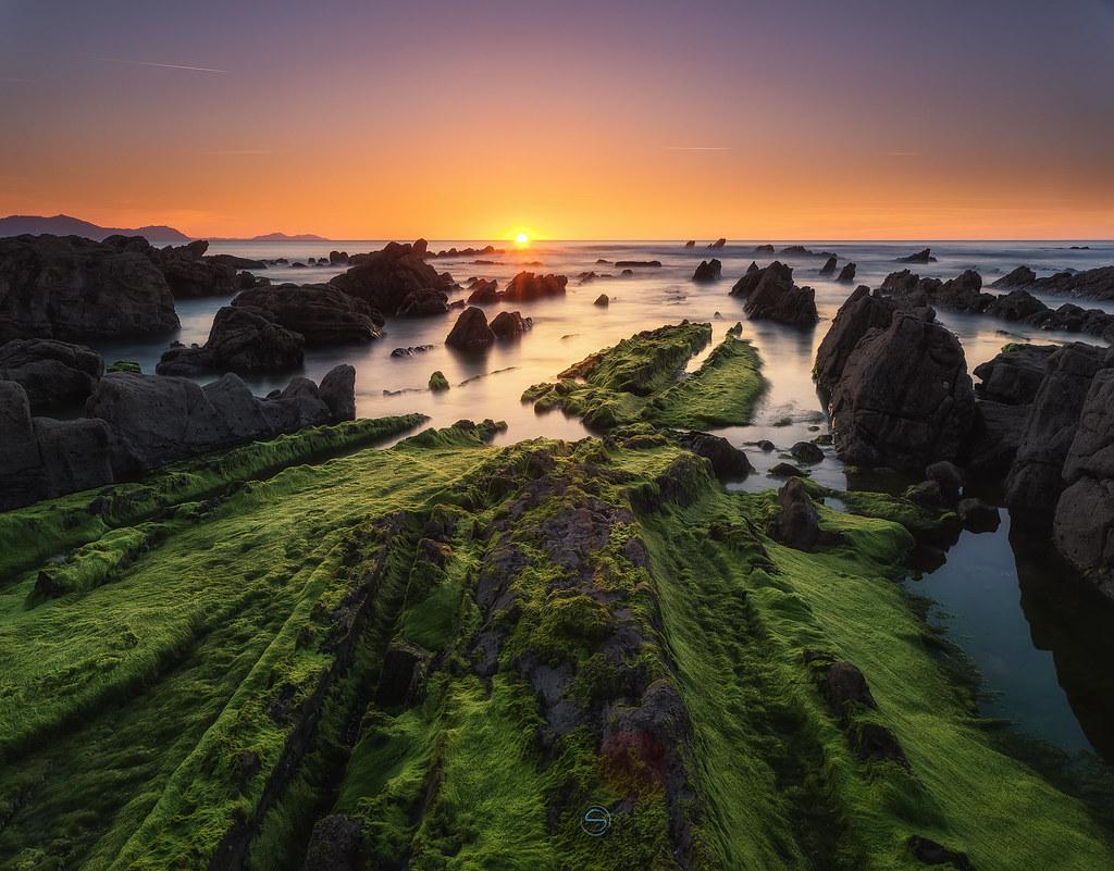 Sunset in Barrika III