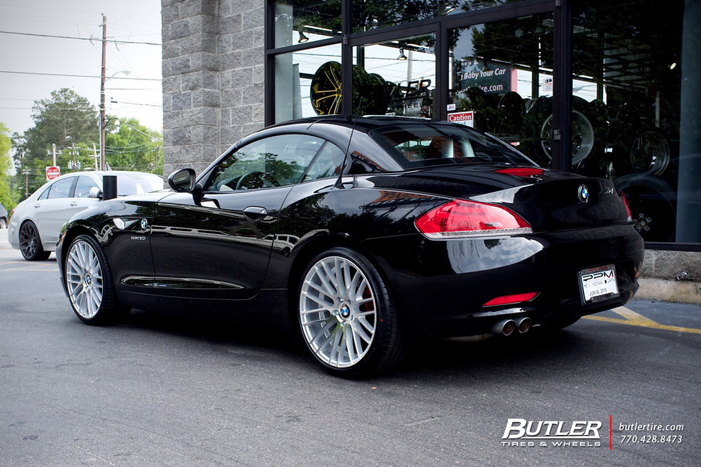 Bmw Z4 With 19in Tsw Parabolica Wheels Additional