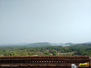 A view of Karkala from the Mahamastakabhisheka structure around the Gommateshwara monloith in Karkala, Udupi district, Karnataka, India