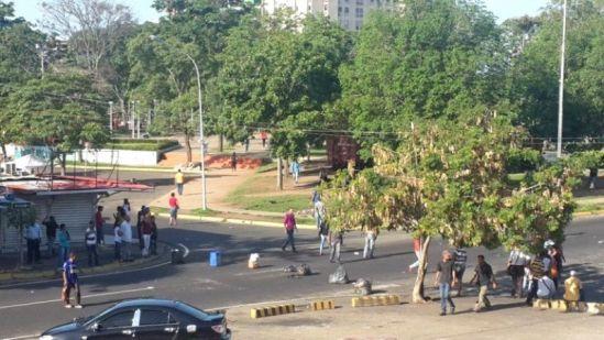 Protestan frente Abasto Bicentenario de Ciudad Guayana por falta de alimentos regulados