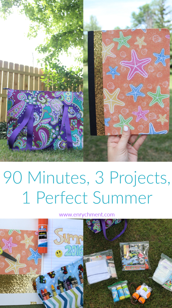 3 Projects & 90 Minutes to a Perfect Summer
